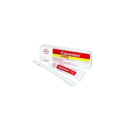CANESTEN KOMBI 500 mg + 10 mg/g emulsiovoide + emätinpuikko, tabl 1+20 g