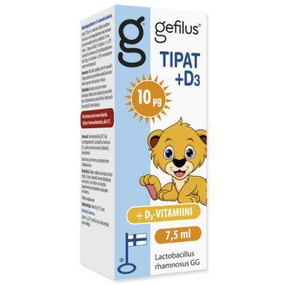 Gefilus Tipat + D X7,5 ml
