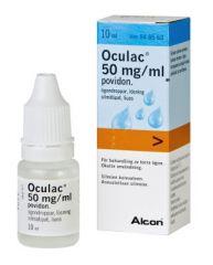 OCULAC 50 mg/ml silmätipat, liuos 10 ml