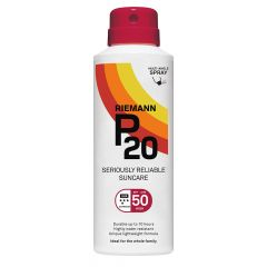 P20 SPF50 continuous spray aurinkosuoja 150 ml
