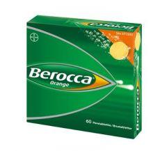 BEROCCA ORANGE poretabl 60 kpl