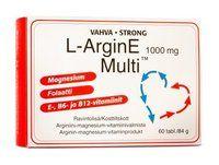 L-ArginE Multi tabl arginiinivalmiste 60 kpl
