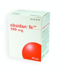 OBSIDAN FE++ 100 mg kaps, kova 50 fol